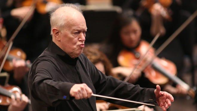 Edo de Waart returns to conduct a Milwaukee Symphony program of Haydn. Mozart and Ives Sept. 29-30.