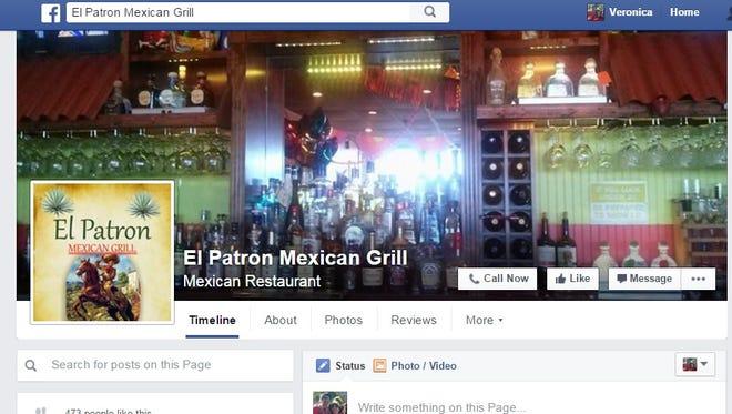 El Patron Mexican Grill.