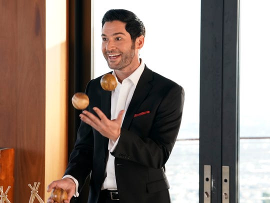 Tom Ellis plays the title character in 'Lucifer.' Fans