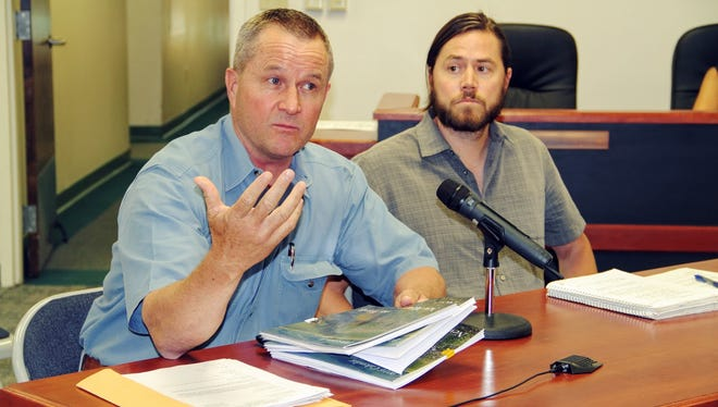 New Mexico State University's Otero County Cooperative Extension Office Agriculture Agent Sid Gordon and PLUAC member Kevin Lockhart provided recommendations to tackle the county's noxious African rue weed problem at their regular meeting last Thursday.