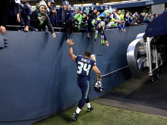 Jerseys NFL Outlet - Thomas Rawls likely to get call at RB again for Seattle
