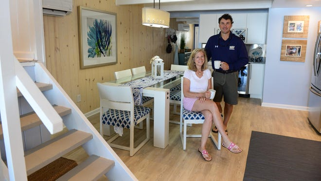 Peter and Linda Roskovich recently had their Ocean City vacation home featured on HGTV Friday, June 2, 2017.