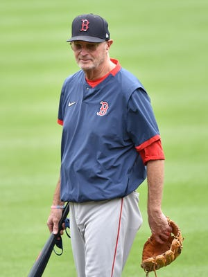 Jerry Narron, who served as Red Sox bench coach last season, will not have his contract renewed, the team announced on Monday.