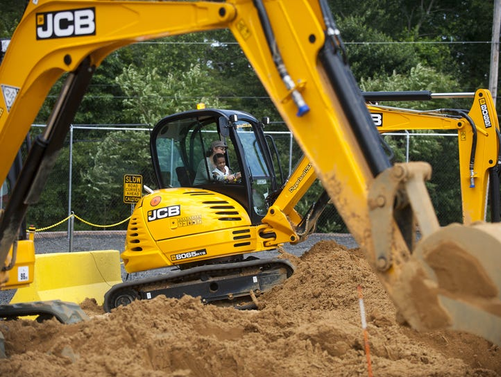 Diggerland, the construction site-themed amusement