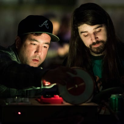 Big Ears crowd spins records with Kid Koala's Satellite Turntable Orchestra