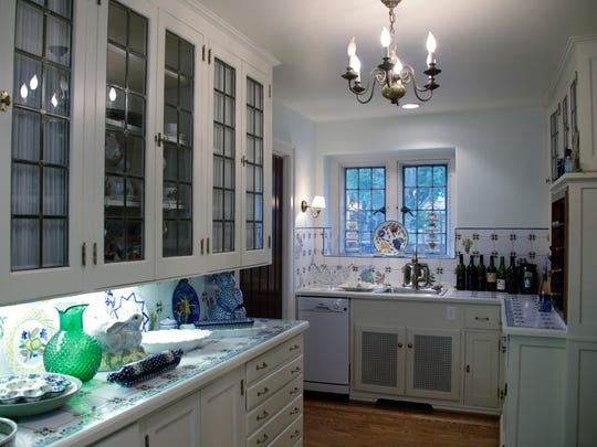 The butler's pantry in a Grosse Pointe Farms home built by Walter Briggs in 1929.
