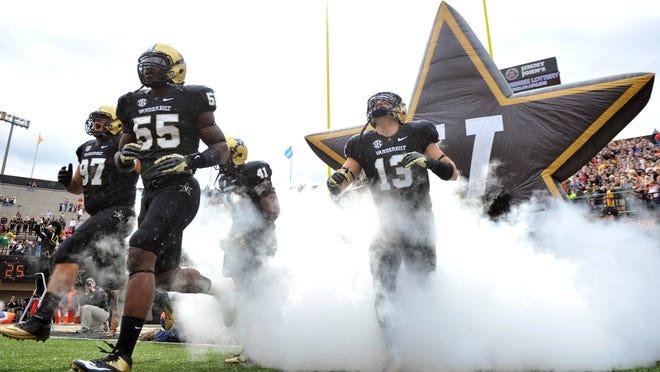 Vanderbilt opens its season on Sept. 5 vs. Western Kentucky.
