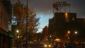 Downtown Flagstaff.