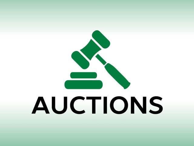 Auction calendar: April 12, 2019