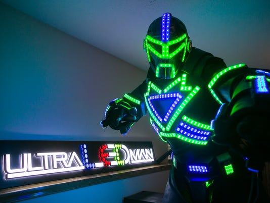 News: LED Man