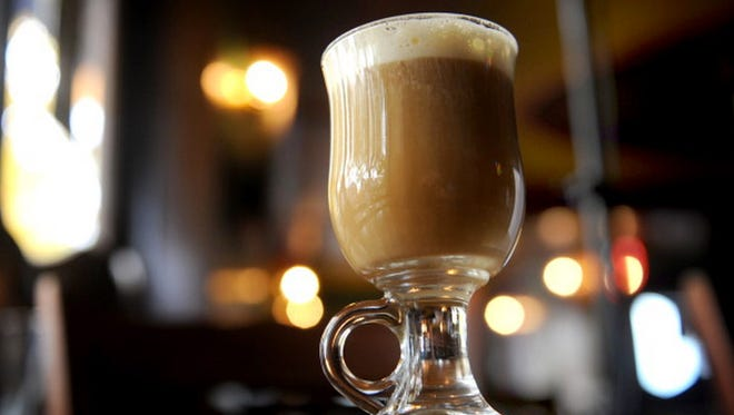 Irish coffee traces its roots to Foynes, Ireland, in the 1940s