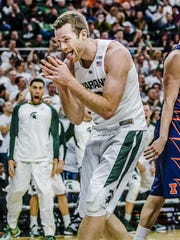 Matt Costello is averaging 10.3 points and 8.1 rebounds as a senior.
