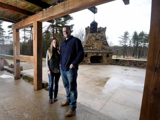 Cody and Sarah Gerhardt are the new owners of the Meadowood, a wedding and event center on Rule Road just outside of Bellville.