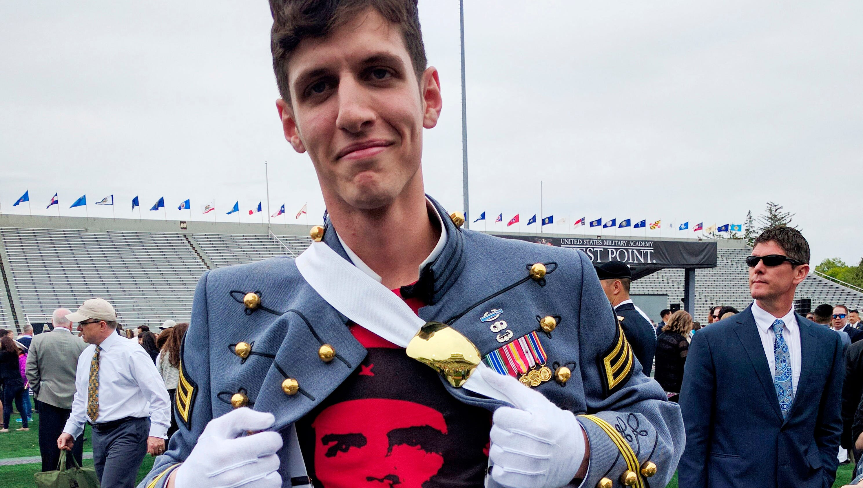 US Army boots West Point officer who touted communist revolution during graduation ceremony