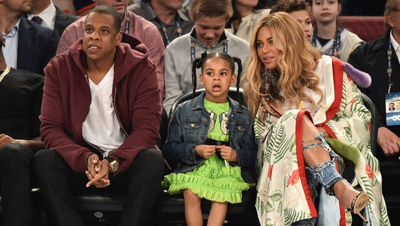 Bey, Jay and Blue's previous family outing was a trip