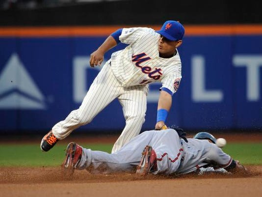 Braves at Mets Aug 28