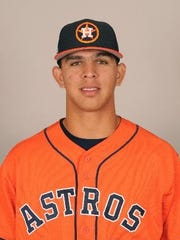 Franklin Perez was traded to the Tigers in the Justin