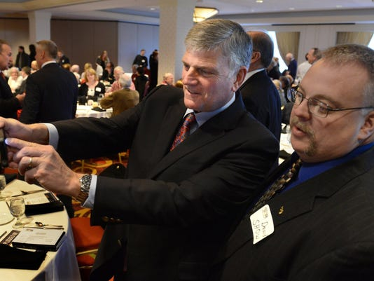 Franklin Graham in Piitsburgh