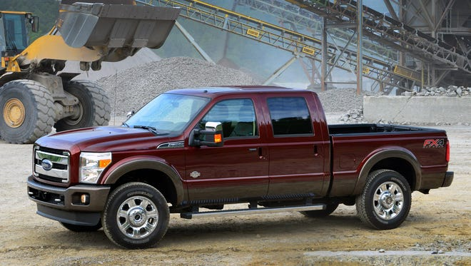 Ford product chief tells Wall Street that next-gen Super Duty pickups to get aluminum bodies like 2015 F-150 standard duty.