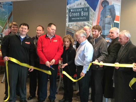 Doro Inc. officials cut the ribbon on their fifth Hardee's