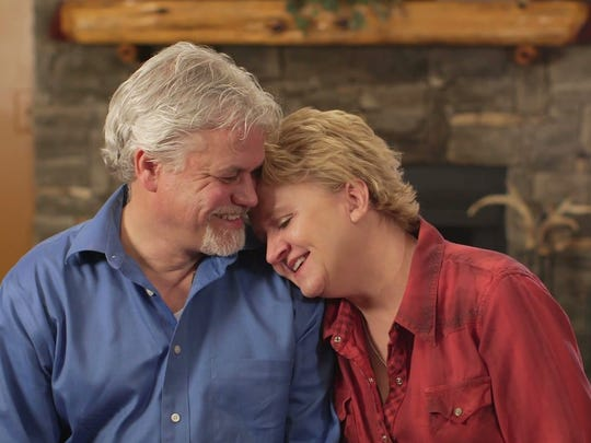 David and Chonda Pierce in an interview they did for a documentary shortly before he died
