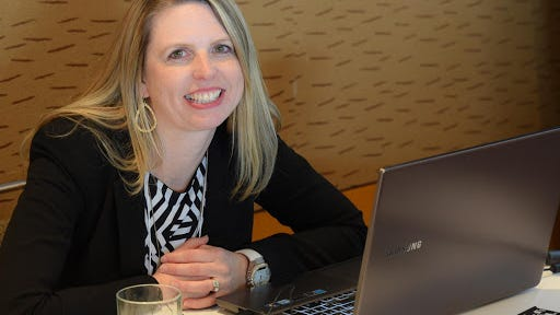 New Granite Falls EDA Director Linda Mathiasen.