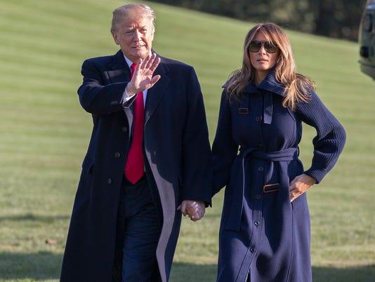 President Trump Melania Trump