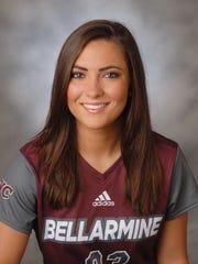 Bellarmine women's soccer player Jordan Major.