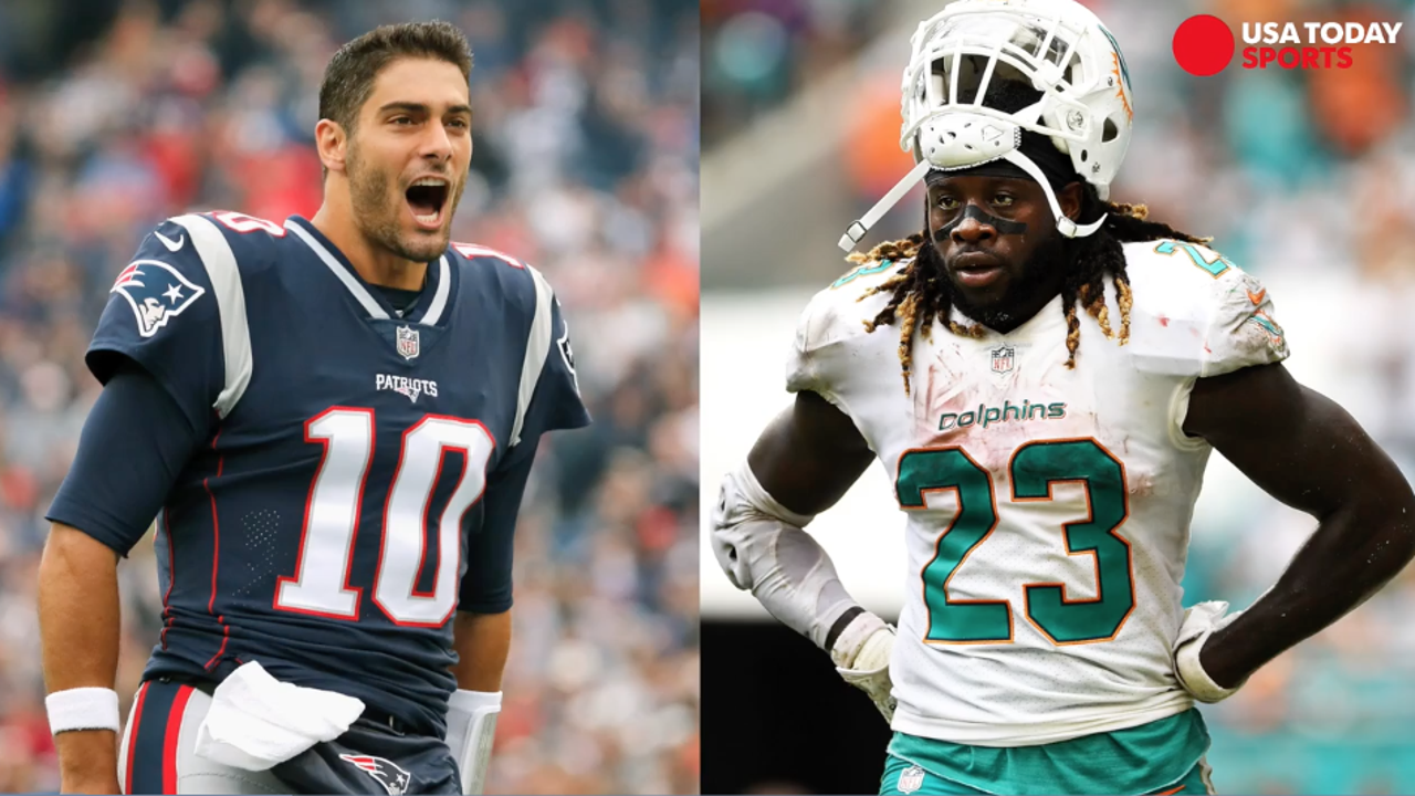 Jimmy Garoppolo, Jay Ajayi highlight NFL trades