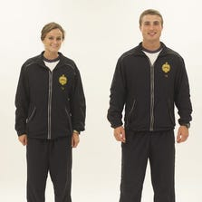The seven-year search for a high-performance jogging suit is zeroing in on a new design worn by Marines and Naval Academy midshipmen.