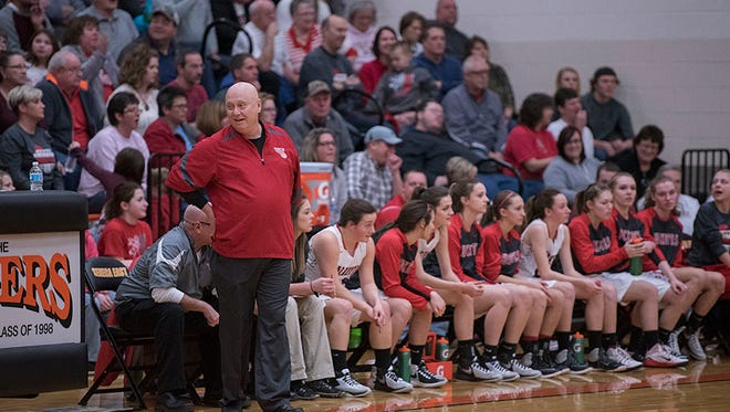 Greg Moore and the Buckettes are off to regionals for the first time since 1997.
