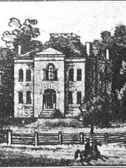 Indiana Governor's Mansion on the Circle was designed by Alexander Ralston - but no governor ever occupied the residence.