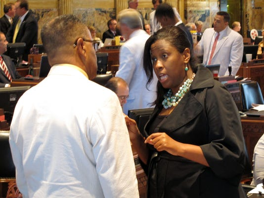 Katrina Jackson, Roy Burrell