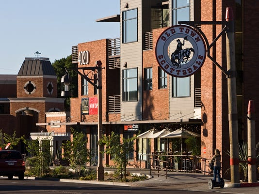 Historical downtown Scottsdale