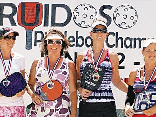 From left, Rita Brahy, New Braunfels, Texas; Leanne Smith, Ruidoso; Lisa Smith and Jeni James, Buckeye, Ariz.