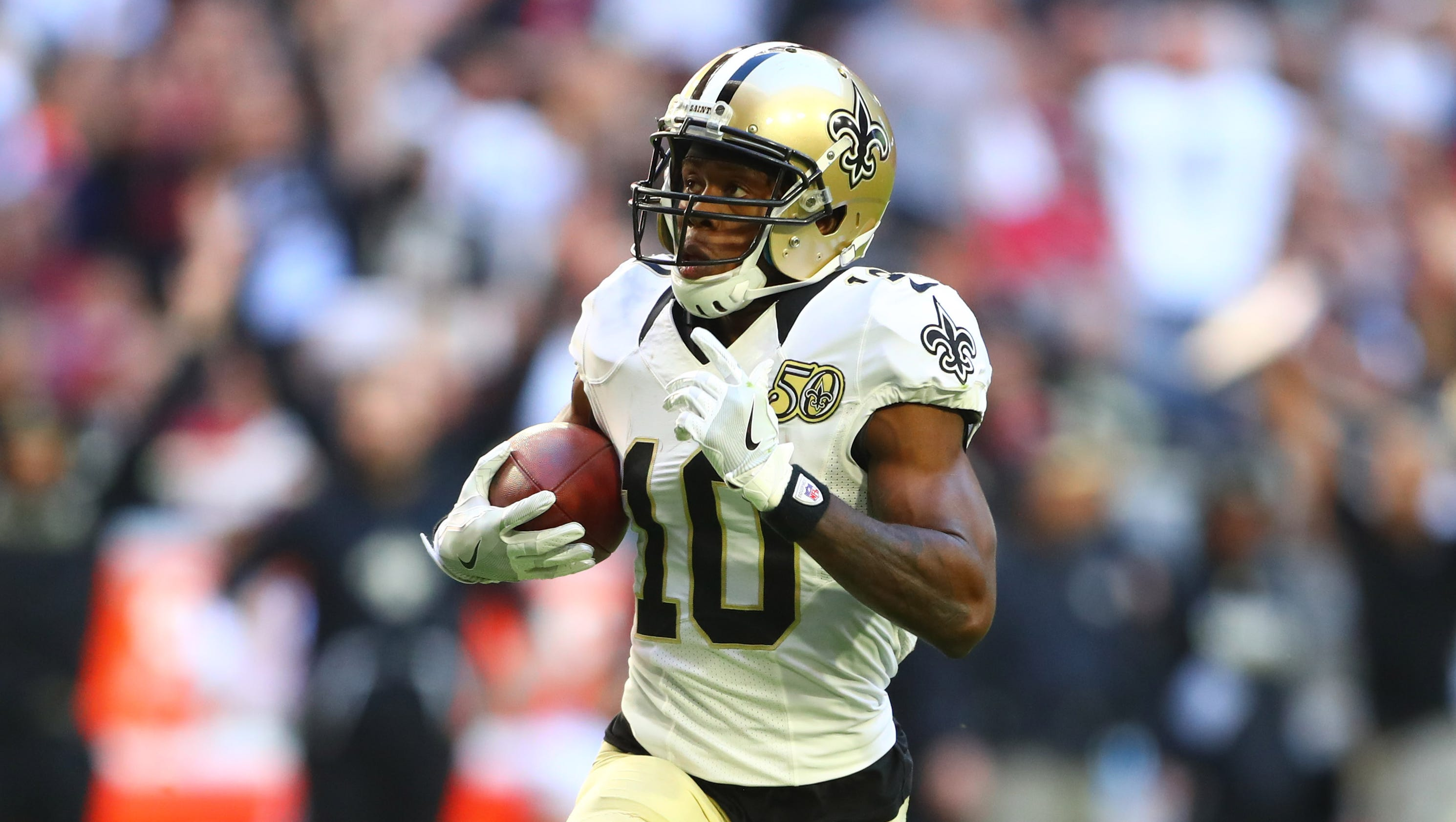 Patriots land WR Brandin Cooks in trade with Saints