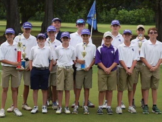 St. Mark's golf team.