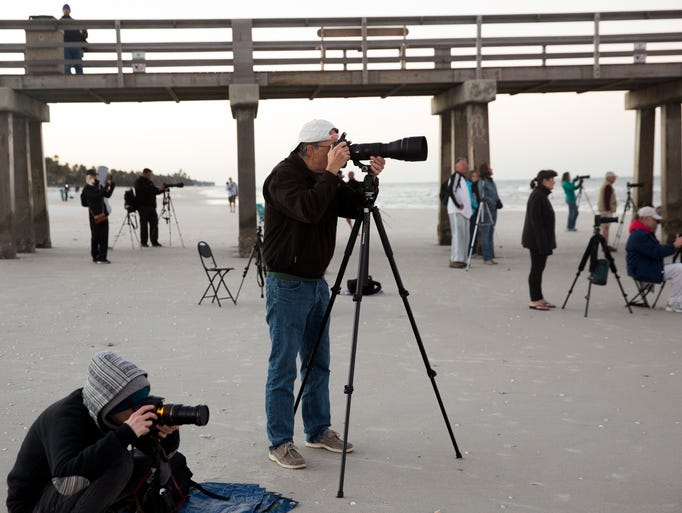 Countless photographers and other lunar enthusiasts