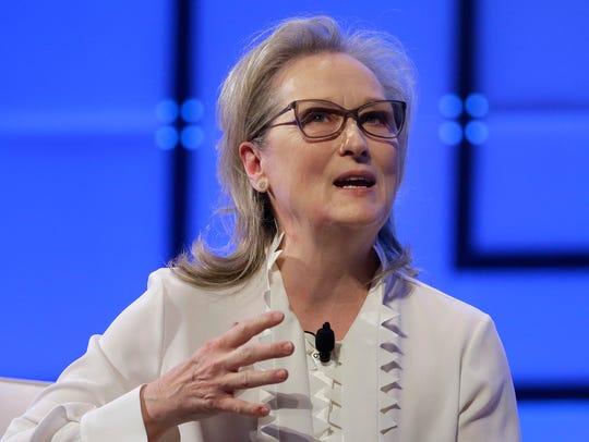 Meryl Streep speaks at The Massachusetts Conference