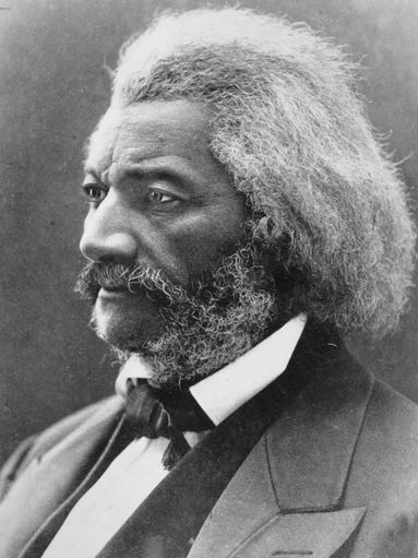 Born in 1818, Frederick Douglass became a national