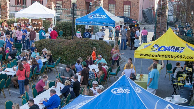 The second annual Crawfish for a Cause is set for Saturday at Seville Square in downtown Pensacola.
