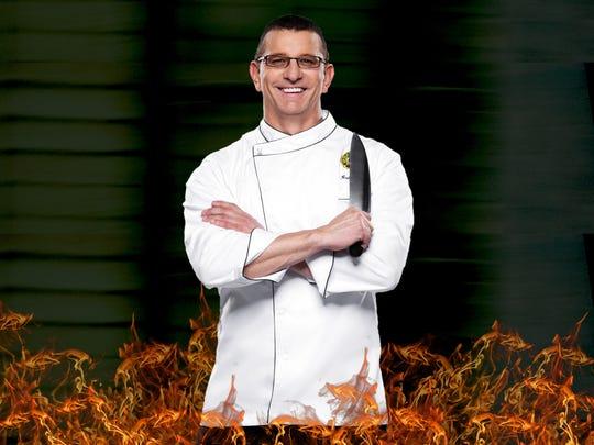 Celebrity chef, Robert Irvine.
