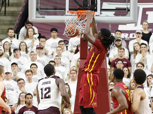 NCAA Basketball: Iowa State at Texas A&M