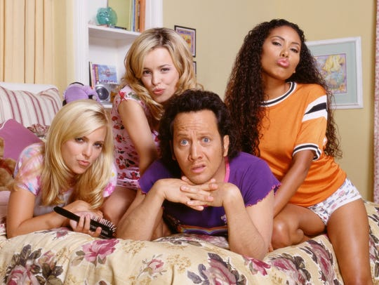 Left to right: Anna Faris, Rachel McAdams, Rob Schneider,