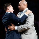 Steve Nash inducted to Phoenix Suns Ring of Honor