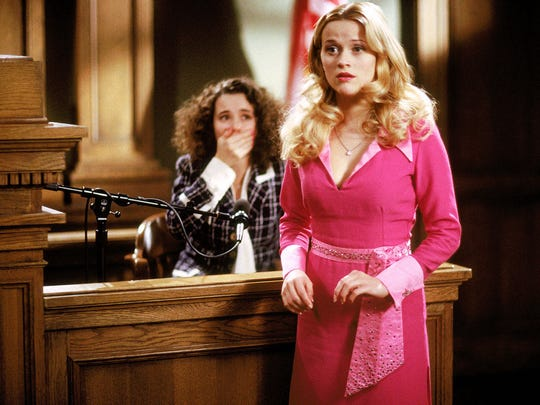Reese Witherspoon, right, and Linda Cardellini in a