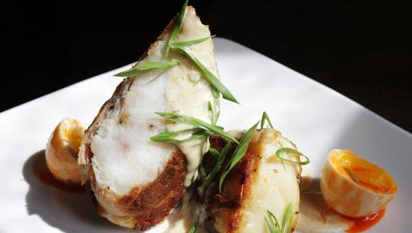 Monkfish at Roux on Bardstown Road. April 24, 2015