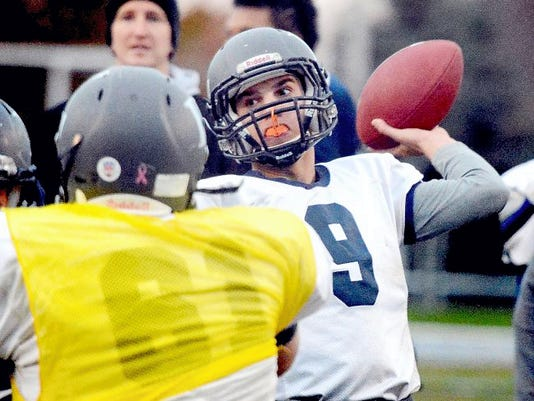Cade Gold returns as Dallastown's starting quarterback after passing for more than 1,200 yards last season as a junior, helping the Wildcats win the York-Adams Division I championship.