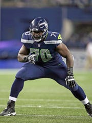 Rees Odhiambo will step in at left tackle in place of George Fant, who is out for the season with a torn ACL.