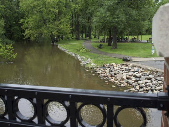 Looking Glass Riverfront Park in DeWitt Township could
